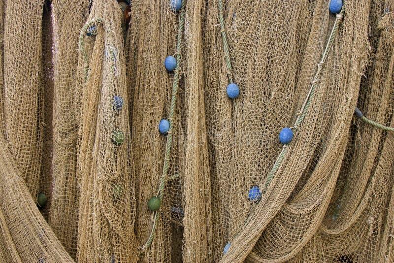 Drapierte Netze stockfoto