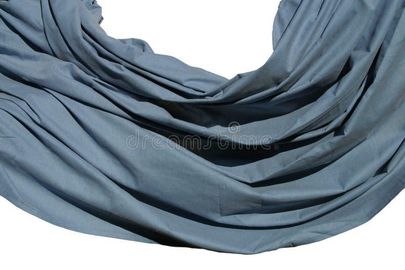 Download Drapierung stockfoto. Bild von drapierung, kräuselung, blau - 48758