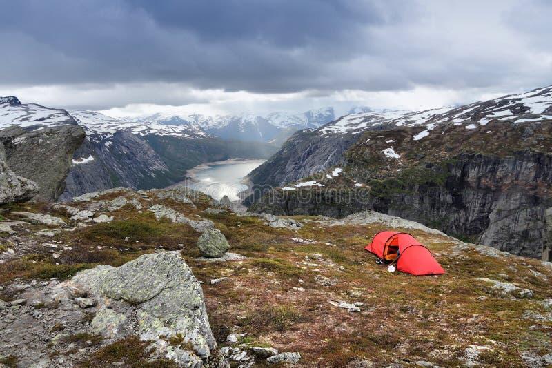 Drastische Landschaft - Norwegen stockfoto