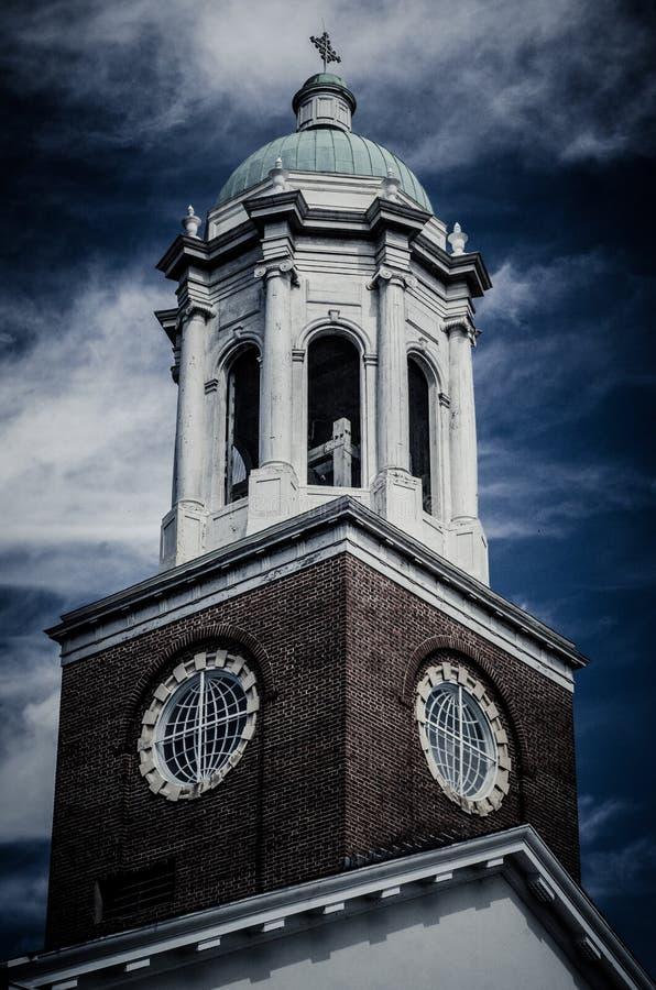 Drastisches historisches Gebäude in Augusta Georgia lizenzfreies stockbild