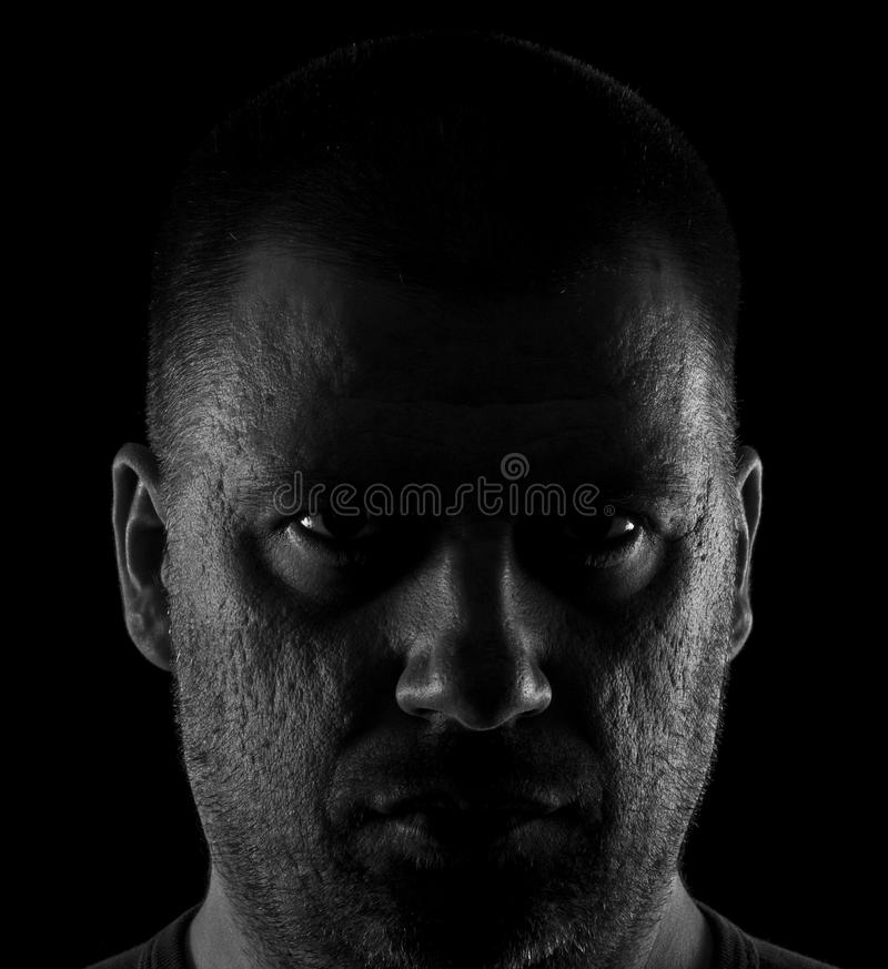 Drastisches Porträt lizenzfreies stockbild