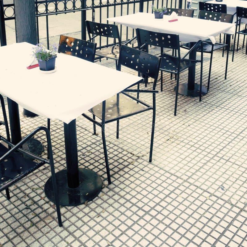 Draußen Café lizenzfreie stockbilder
