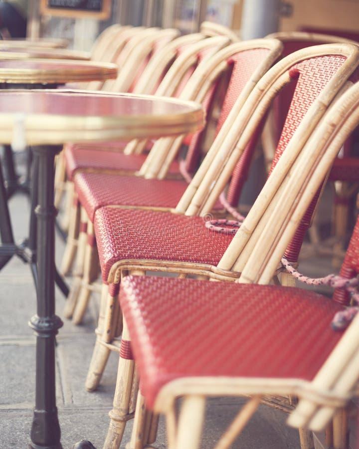 Draußen Café in Paris lizenzfreies stockfoto
