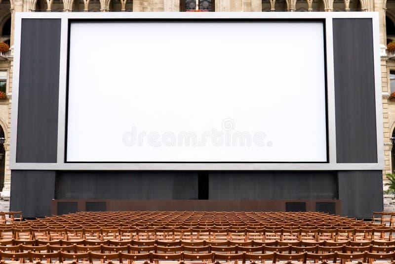 Draußen Kino stockbilder