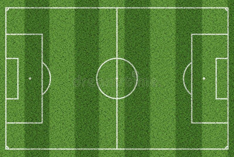 Draufsicht des Fußballplatzhintergrundes vektor abbildung