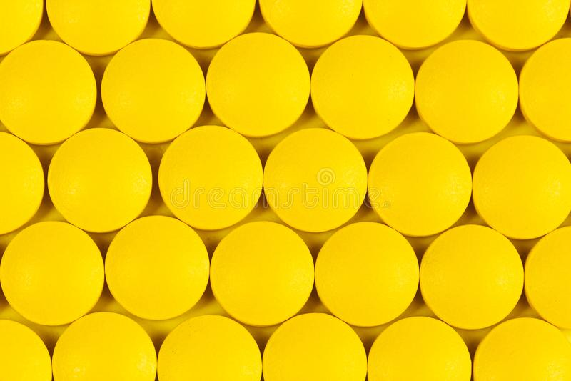 Draufsicht von pharmazeutischen Medizinpillen lizenzfreies stockfoto