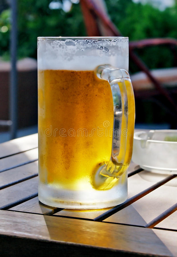 Draught beer stock images