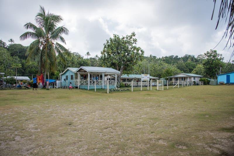 Dravuni wyspy szkoła podstawowa zdjęcie stock