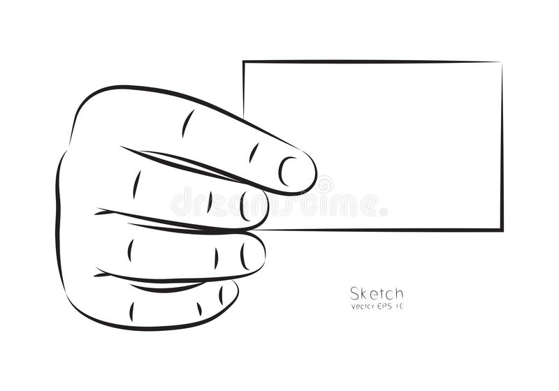 Draw hand and business card vector stock vector illustration download draw hand and business card vector stock vector illustration 66720465 reheart Image collections