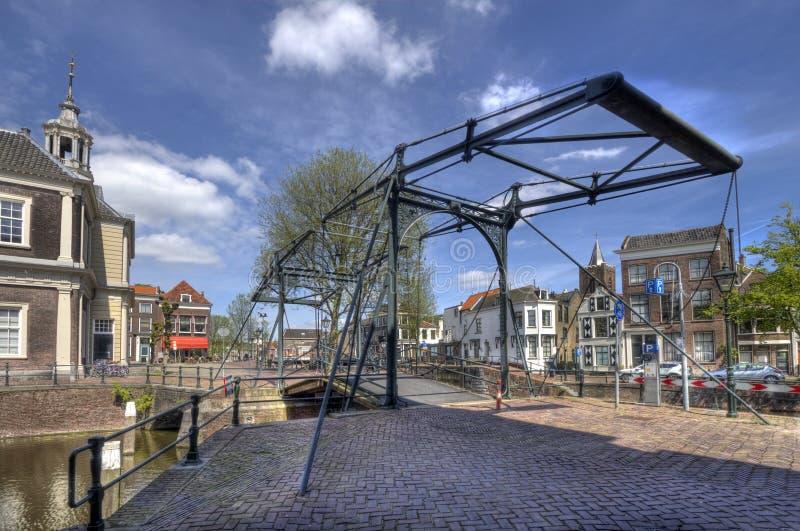 Drawbridge in Olanda fotografie stock