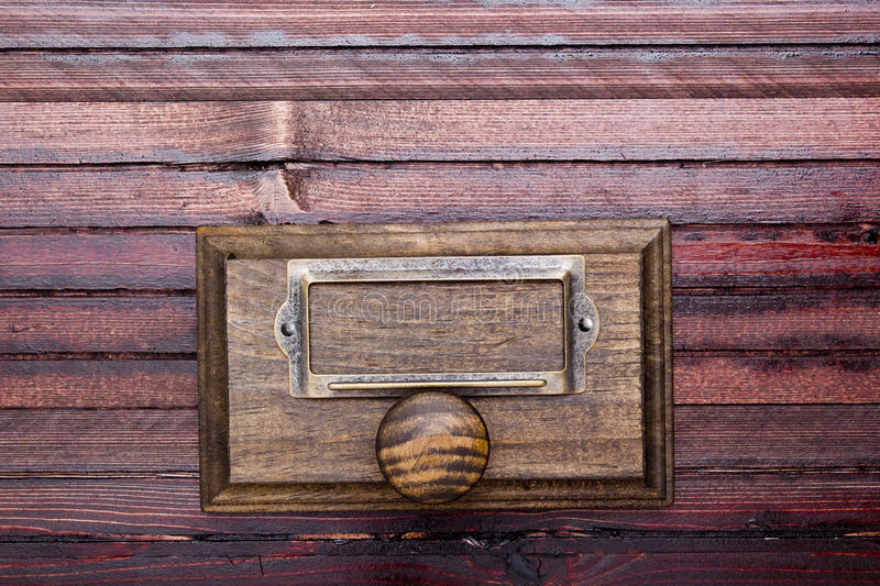Drawer cabinet archive royalty free stock images