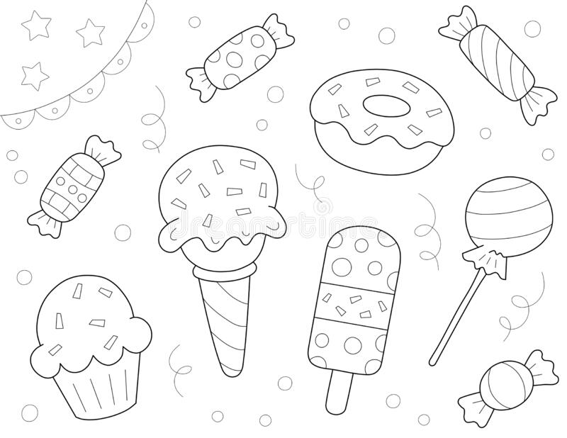 Popsicle Coloring Stock Illustrations 100 Popsicle Coloring Stock Illustrations Vectors Clipart Dreamstime