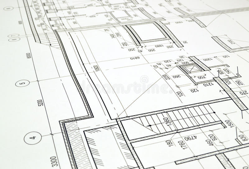 Drawing a floor plan of the building stock image image of design download drawing a floor plan of the building stock image image of design blueprint malvernweather Images