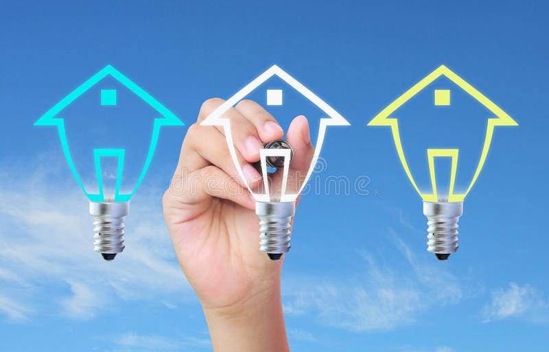 Download Drawing house stock image. Image of light, house, marketing - 20946791
