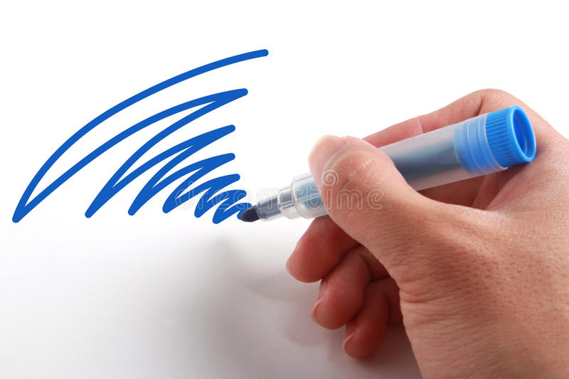 Drawing line stock photography