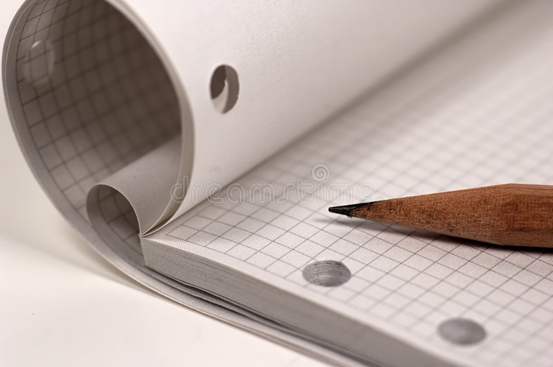 Drawing Pad stock photography