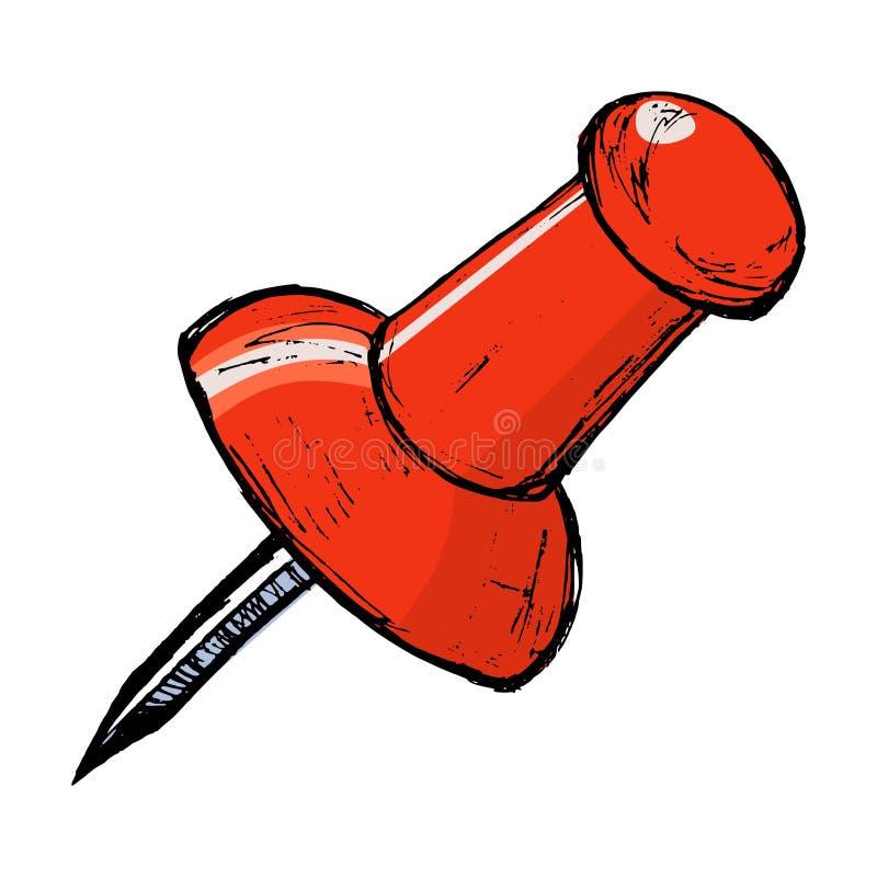 Drawing Pin Royalty Free Stock Image