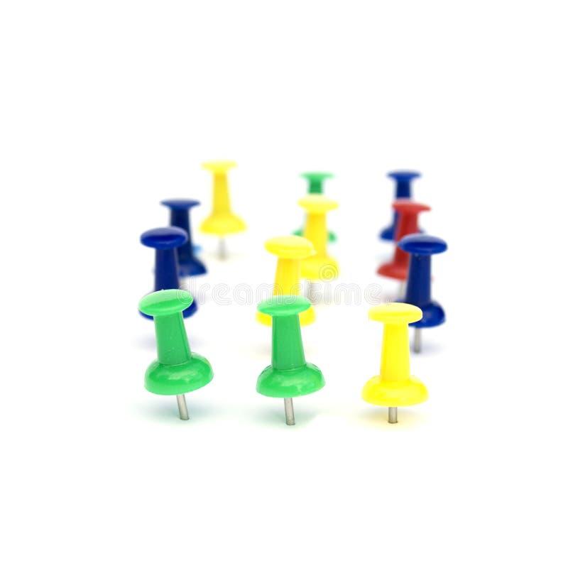 Free Drawing-pins 2 Royalty Free Stock Image - 9744336