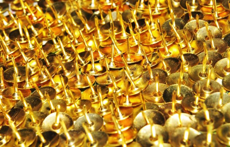 Drawing pins royalty free stock photo