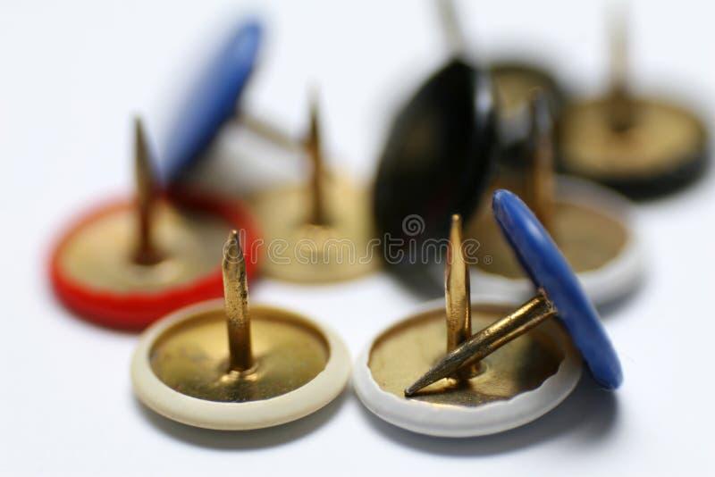 Drawing Pins royalty free stock photography