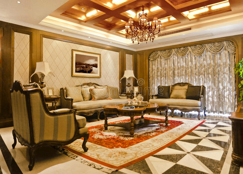Download Drawing room apartments editorial photo. Image of luxury - 59490836