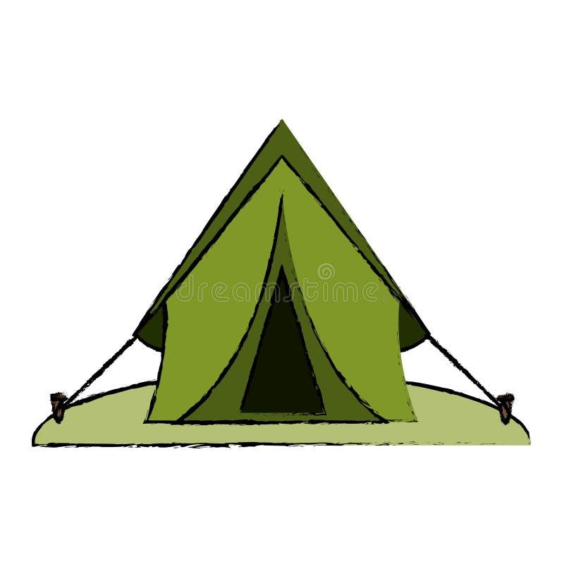 Download Drawing Tent Equipment C&ing Activities Stock Vector - Illustration of doodle cartoon 81506941  sc 1 st  Dreamstime.com & Drawing Tent Equipment Camping Activities Stock Vector ...