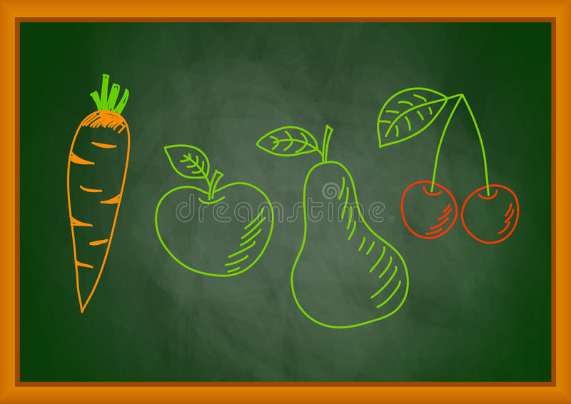 Download Drawing Of Vegetable And Fruit Stock Photos - Image: 25865263