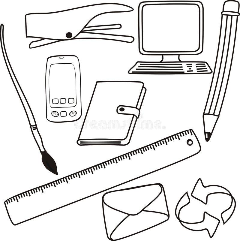 Drawings stock illustration