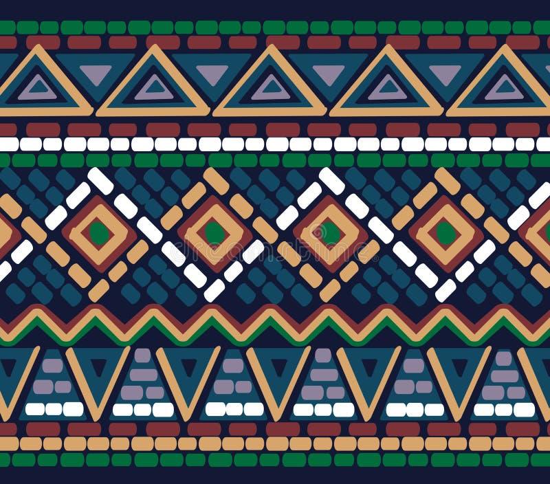 Drawn geometric linear pattern royalty free stock photo