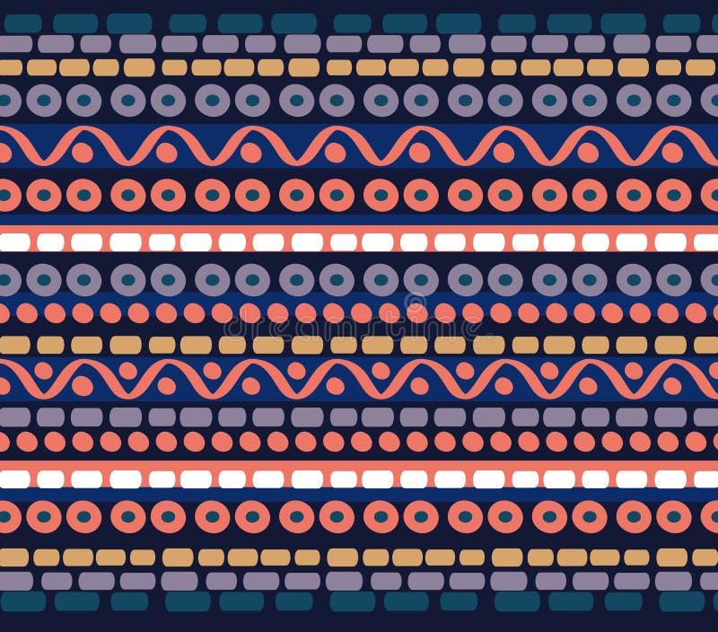 Drawn geometric linear pattern stock image
