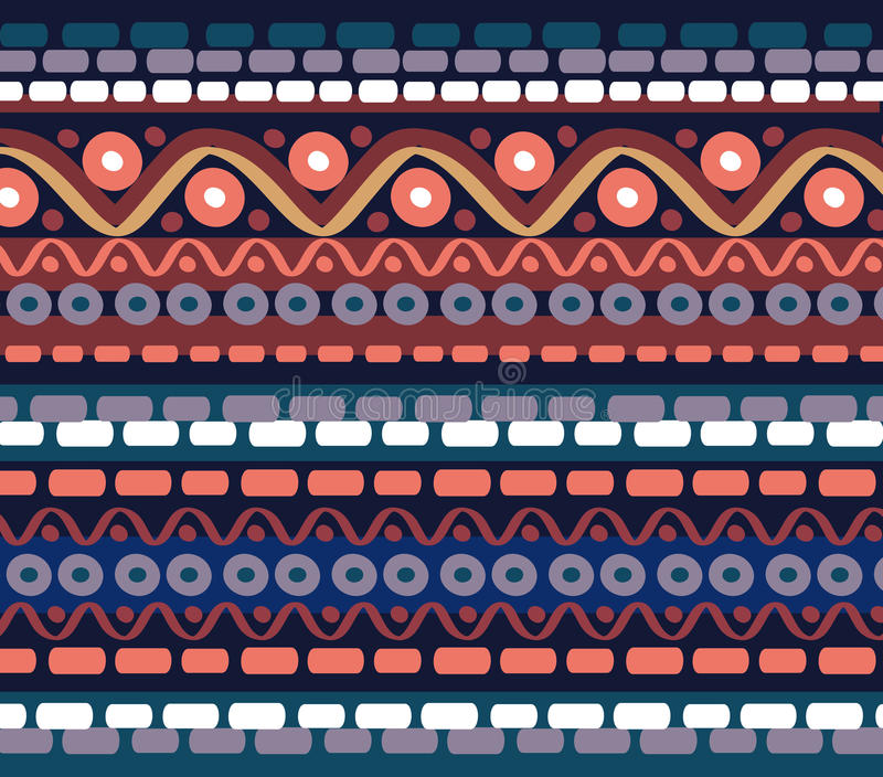 Drawn geometric linear pattern stock photo