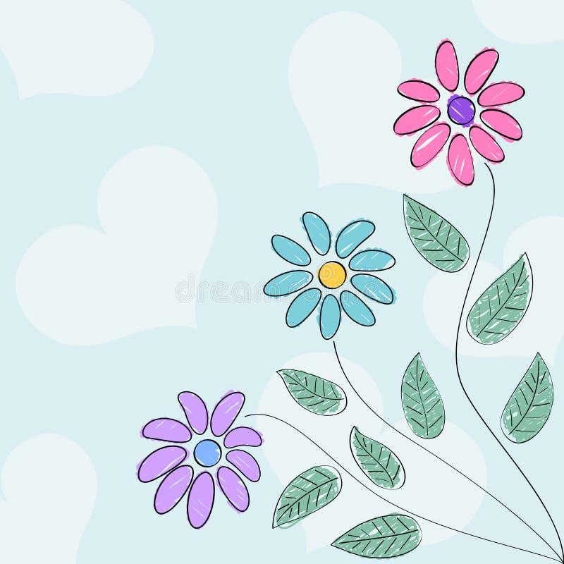 Drawn like flowers
