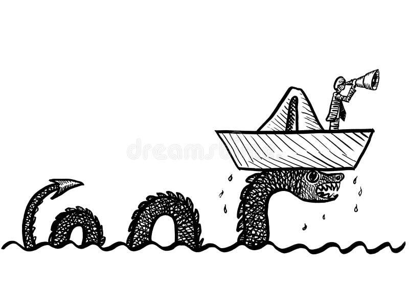 Sea Serpent Stock Illustrations – 391 Sea Serpent Stock ...   566x800