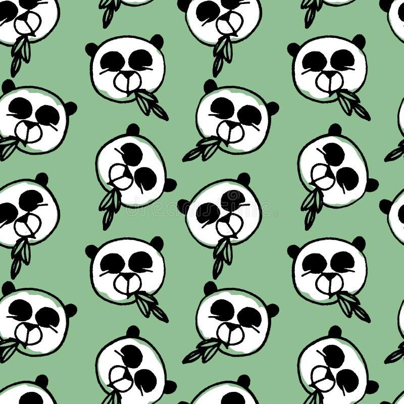 Custom kids boys cartoon wallpaper mural panda playing bamboo tv sofa  children bedroom living room cafe