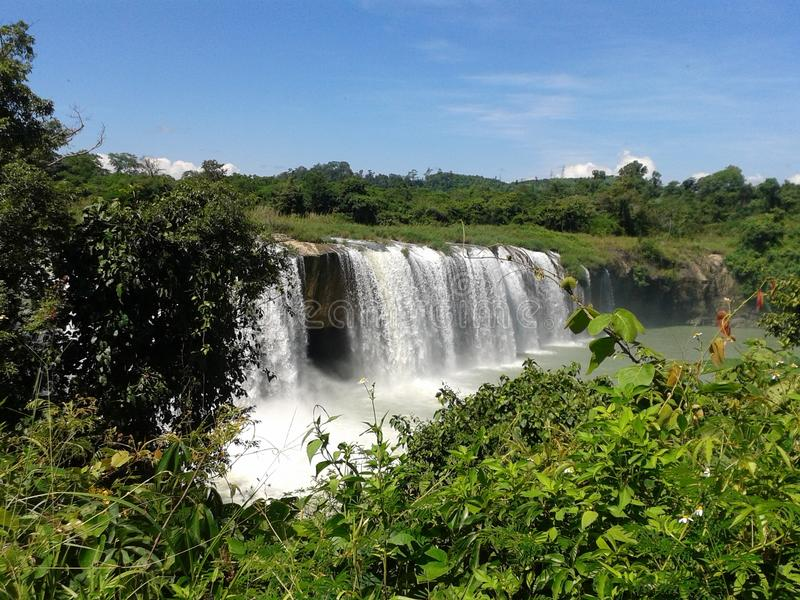 Dray Nur Water Fall stock image