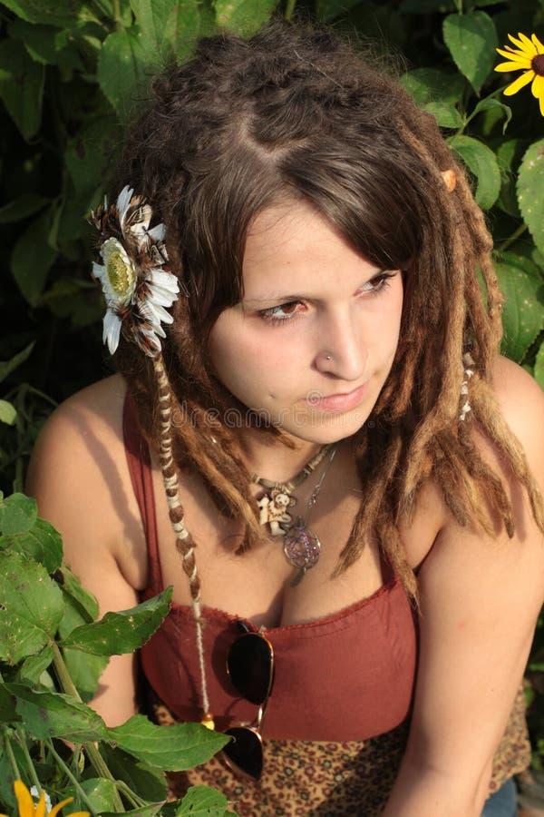 Download Dread Locks Outdoors stock image. Image of piercing, brown - 22735989