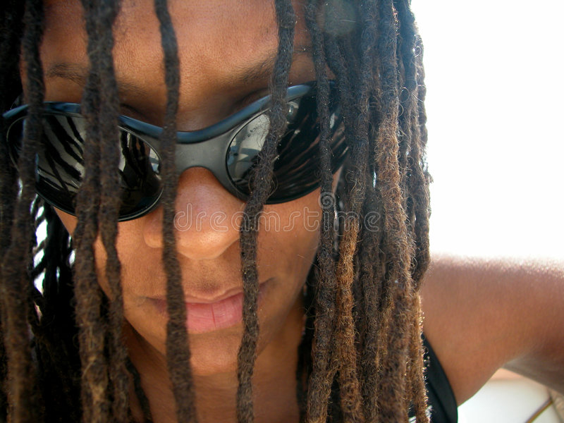 Download Dreadlock 01 stock image. Image of african, culture, glasses - 6805