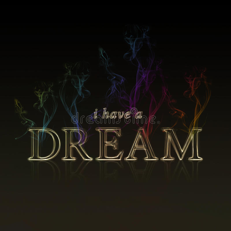 Dream stock illustration
