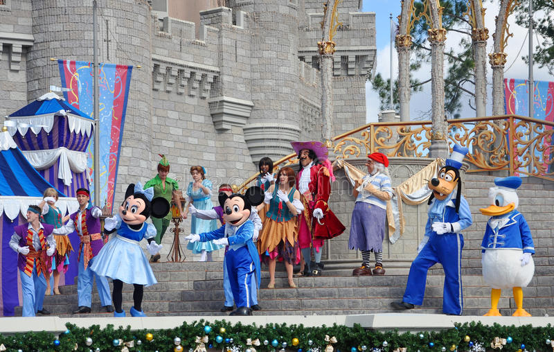 Dream Along with Mickey Show in Disney World