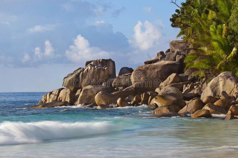 Download Dream Beach - Anse Georgette Stock Photo - Image of ocean, relaxation: 39502864