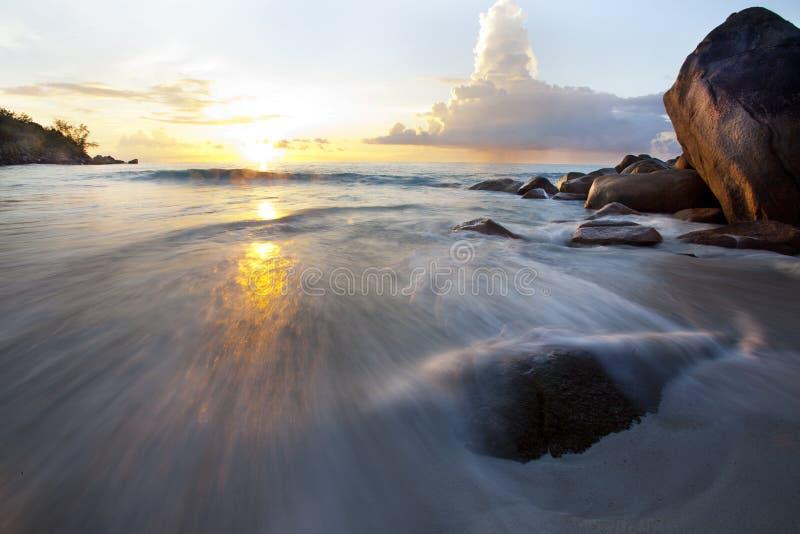 Download Dream Beach - Anse Georgette Stock Image - Image of resort, restaurant: 39502967