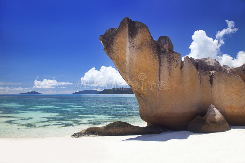 Download Dream Beach -Curieuse Island Stock Photo - Image of nature, holiday: 39503398