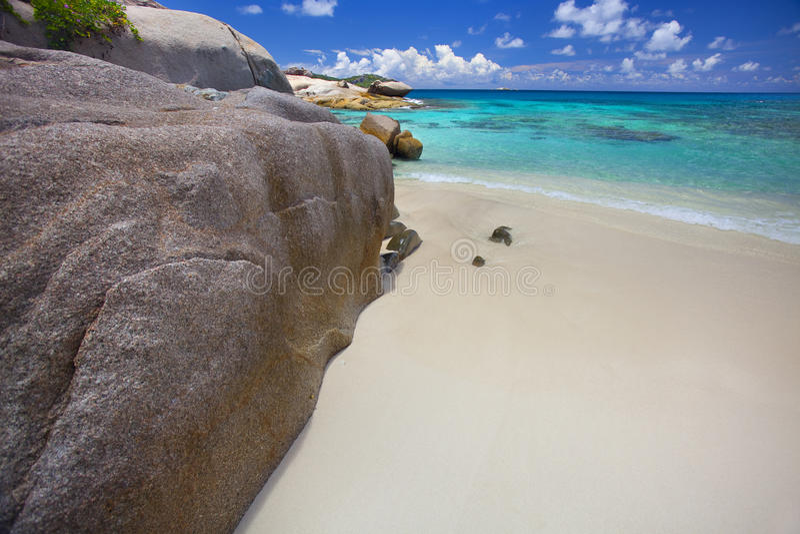 Download Dream Beach stock photo. Image of paradis, scenery, blue - 39504068