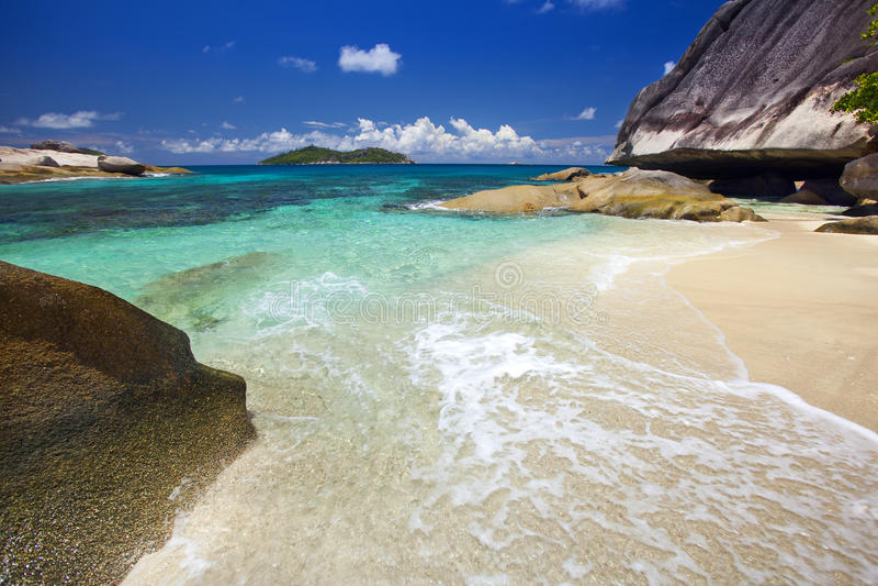 Download Dream Beach stock image. Image of coast, seascape, anse - 39504111