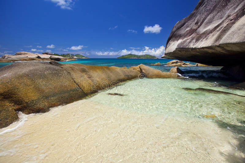 Download Dream Beach stock photo. Image of recreation, granite - 39504132