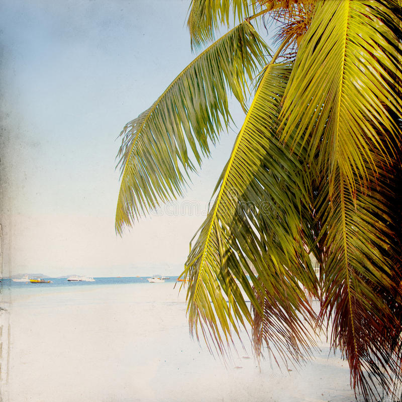 Download Dream Beach Grunge Background Stock Image - Image of rest, dream: 39500545