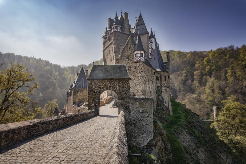 Dream Castle Eltz royalty free stock photography