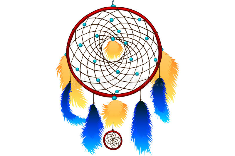 Download Dream catcher stock vector. Illustration of eagle, indian - 19327002