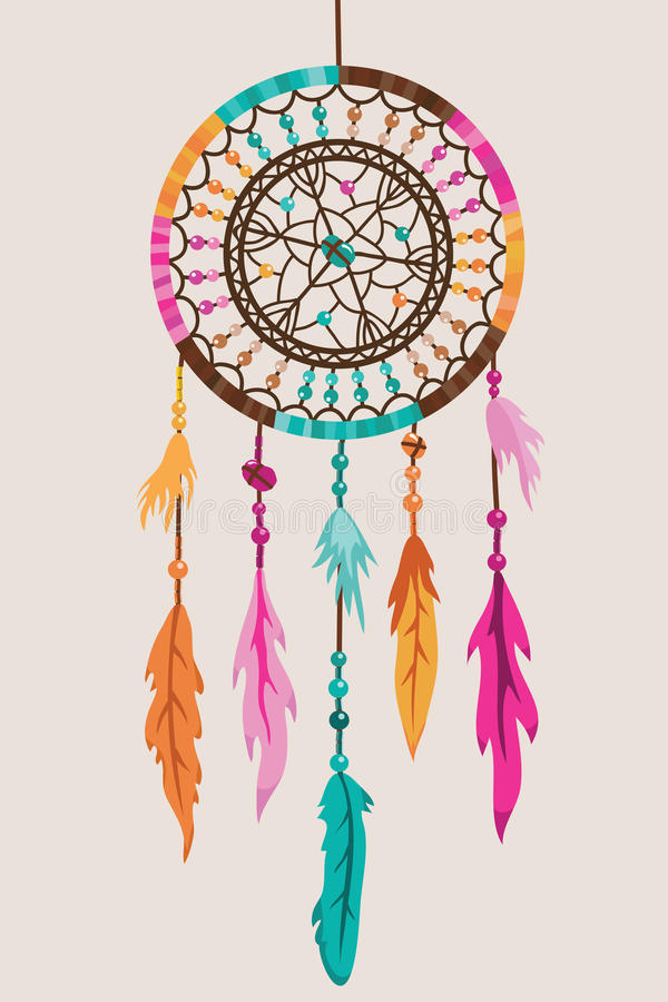 Download Dream Catcher stock vector. Illustration of folklore - 28344681