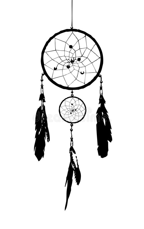 Dream catcher stock illustration image of circle protect for Dream catcher graphic